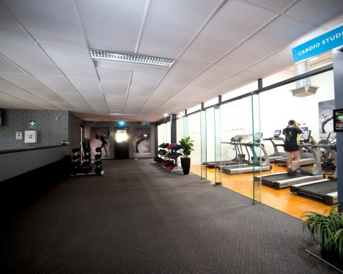 Benefitness Lower Hallway Left